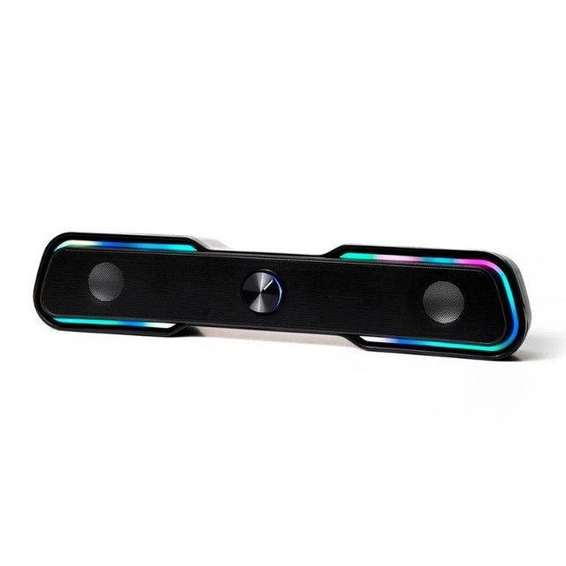 Caixa de Som HP Com LED - DHE-6002