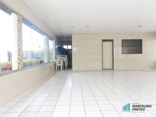 Apartamento com 2 dormitórios para alugar, 45 m² por R$ 909,00/mês - Parque Tabapua - Cauc - Foto 14