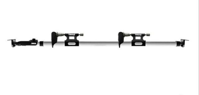 Suporte de Bicicleta Thule Usado para Caçamba (822 XT) + Adaptador Thule eixo 15mm(53015)