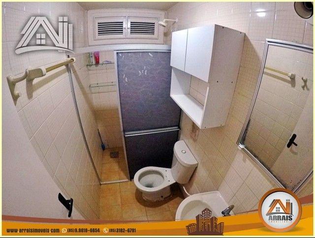 Apartamento com 3 dormitórios à venda, 96 m² por R$ 280.000,00 - Vila União - Fortaleza/CE - Foto 10