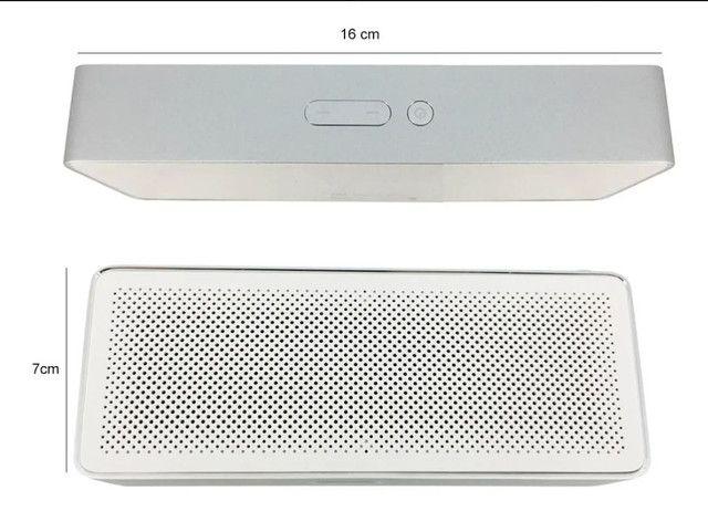 Caixa De Som Portátil Xiaomi Mi Original Bluetooth 4.2 Square Box 2 - Foto 5