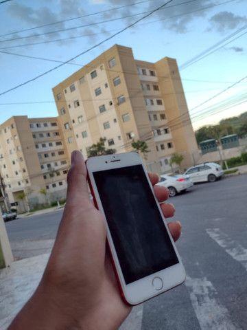 iPhone 7red 128gb bateria 96% - Foto 4