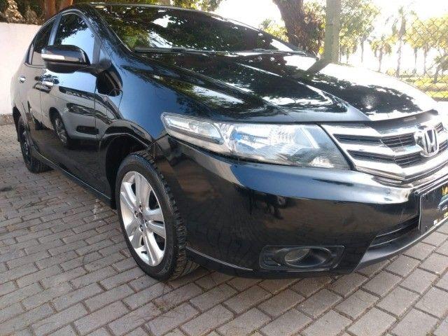 Honda City Sedan EX Flex 1.5 Aut Ano 2013 - Foto 2