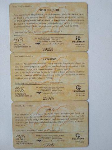 Cartões telefônicos - Foto 4