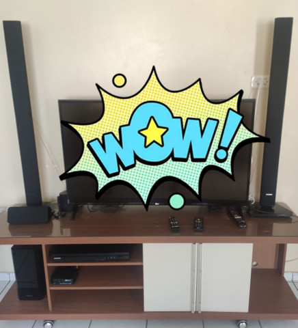 Home theater - Samsung - 1000 watts