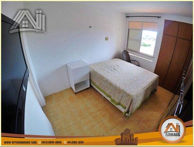Apartamento com 3 dormitórios à venda, 96 m² por R$ 280.000,00 - Vila União - Fortaleza/CE - Foto 15