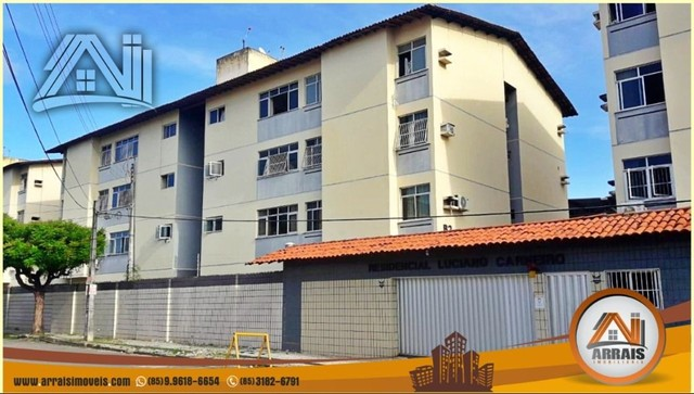 Apartamento com 3 dormitórios à venda, 96 m² por R$ 280.000,00 - Vila União - Fortaleza/CE