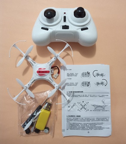 Drone Eachine H8mini Branco. - Foto 3