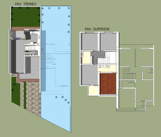 Sobrado 3 quartos no Antônio Barbosa, nunca habitado, construção com material de primeira - Foto 11