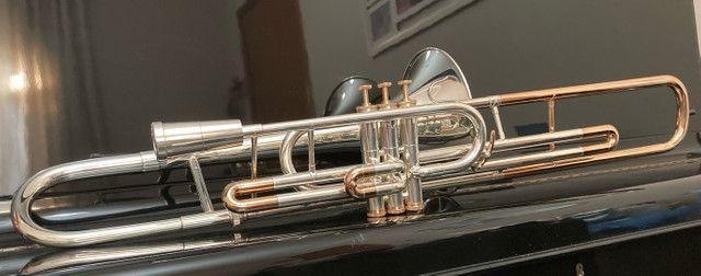 Trombone Weril Prata Sib Curto - Foto 4