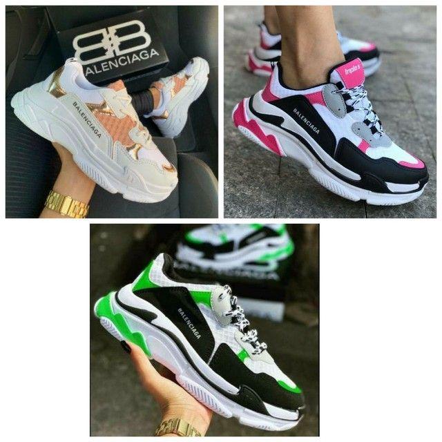 Promoção tênis Fila, Nike e Balenciag (130 com entrega) - Foto 3