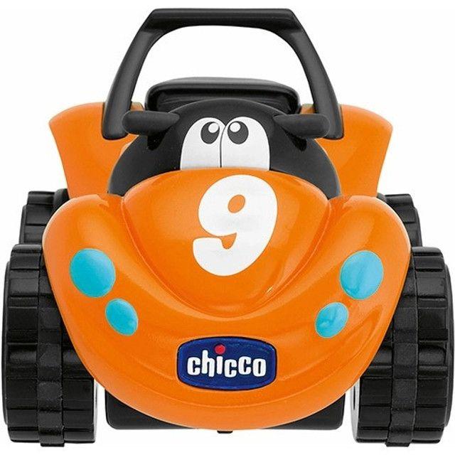 carrinho de Brinquedo Bebê/Infantil Turbo Touch Quaddy Laranja - Chicco