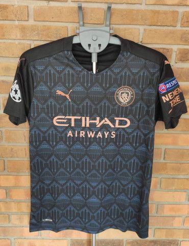 Camisa Manchester City Futebol - Foto 2