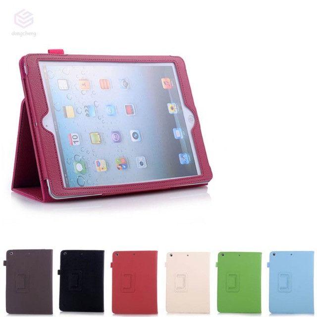 Capa Ultra Fino Para iPad Mini 1/2/3 Couro Pu - Rosa - Novo - Foto 3