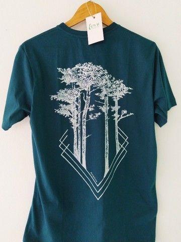 Camiseta Amazônia Sequoias Protegidas