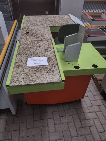 """Checkout Verde/Laranja com Granito 1,90X1,00X0,85A - Usada """"No Estado"""" - Foto 4"""