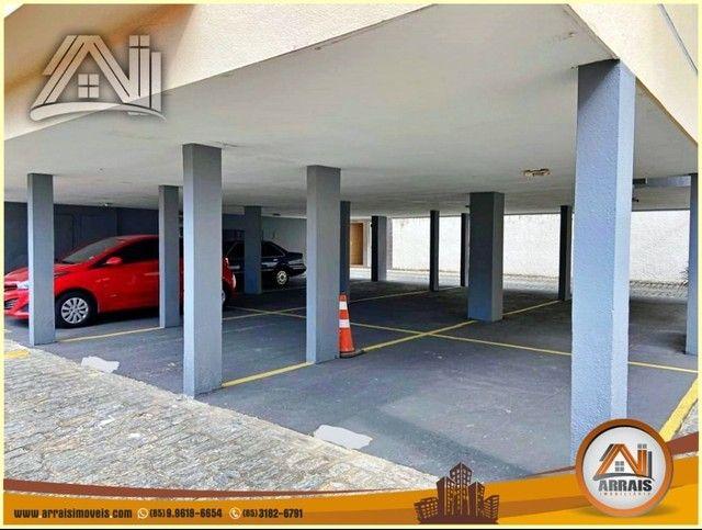 Apartamento com 3 dormitórios à venda, 96 m² por R$ 280.000,00 - Vila União - Fortaleza/CE - Foto 19