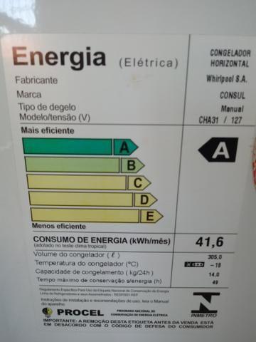 Freezer CONSUL/Congelador horizontal