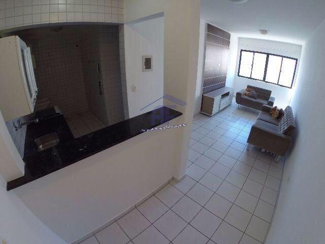 Apartamento quarto e sala com 38m² - Edifício Ametista III - Ponta Verde
