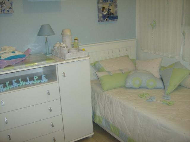 afd201b5db Kit berço cama infantil com edredom e almofadas - Artigos infantis ...