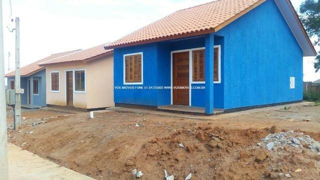 Casa 2 dormitórios com pátio grande, em Nova Santa Rita - Foto 4
