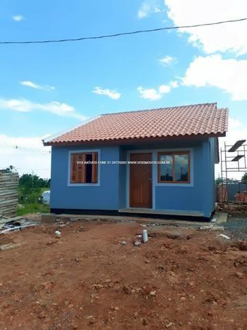 Casa 2 dormitórios com pátio grande, em Nova Santa Rita - Foto 7