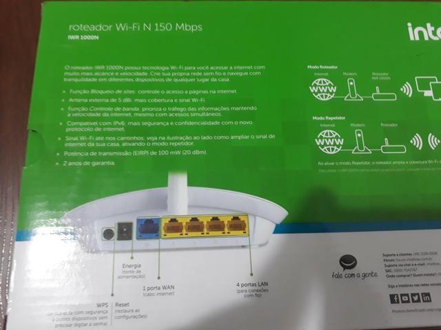Vendo um roteador Wi-Fi 150 Mbps pra vender logo - Foto 2