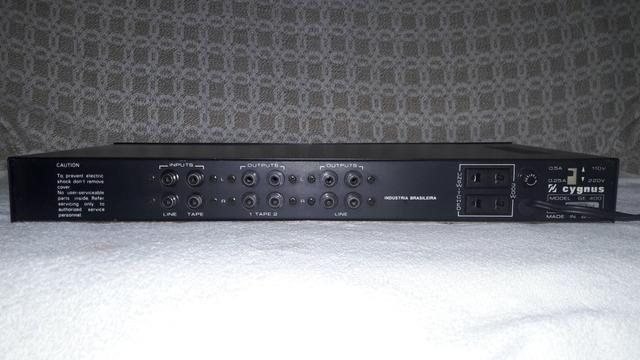 Equalizador Cygnus Model Ge400 (Black) - Foto 4