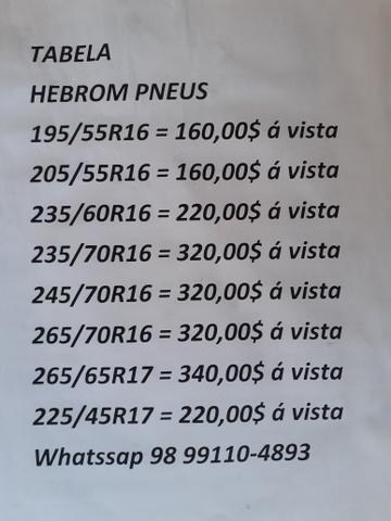 Temos PNEU P/ VARIOS CARROS // CONFIRA TABELA COMPLETA - Foto 4