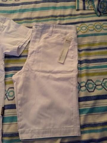 Short tamanho 14 e camiseta m - Foto 2