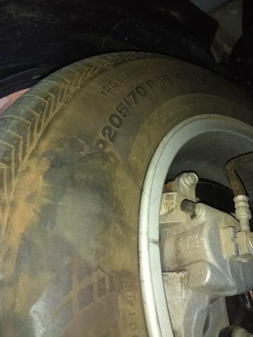 Vendo pneu Continental 205/70 R16 - Foto 2