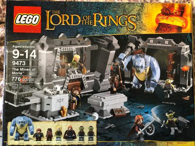 Lego the lord of the rings: the mines of moria novo
