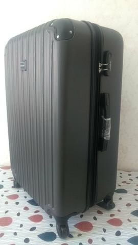 Conjunto kit de malas de viagem ABS fibra NOVAs - Foto 6