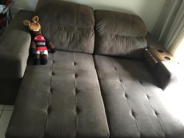 Sofá retrátil e reclinável - Foto 2