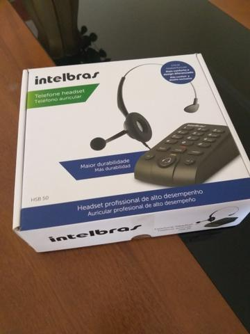 Headset profissional Intelbras