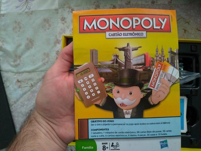 Jogo Monopoly - Com cartão eletrônico - Foto 3