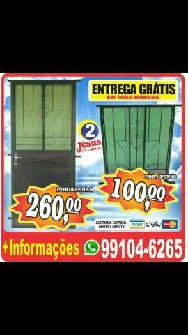 Fabricamos porta e janelas