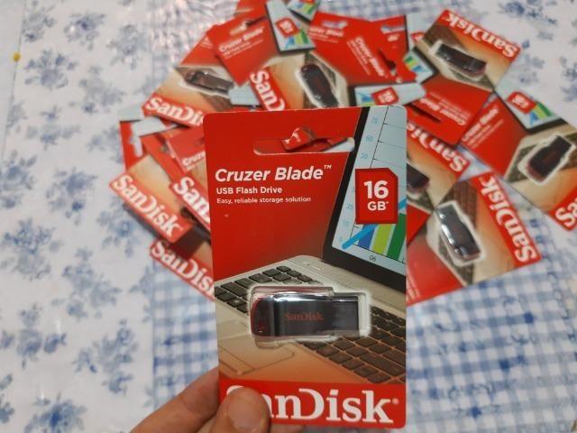 Pen drive 16GB novo lacrado barato