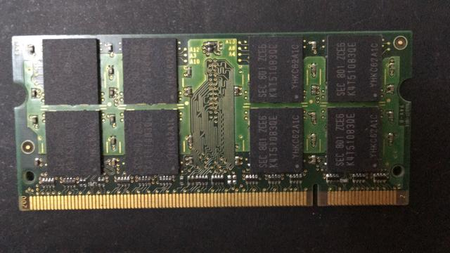 Memória RAM Notebook