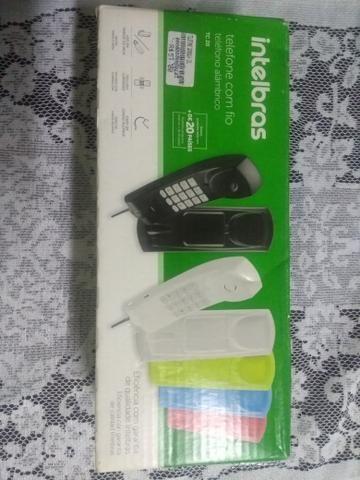 Telefone Intelbras godola com fio novo - Foto 3