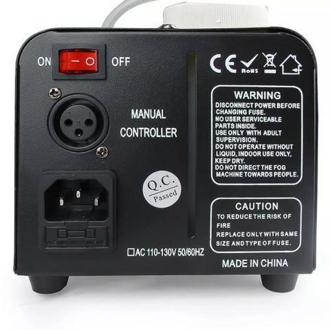 Maquina De Fumaça 600w 110v Com Strobo Rgb Controle Com Fio - Foto 3