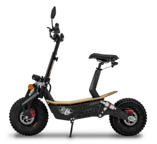 Scooter/Patinete Elétrico Monster 1600W 48V Two Dogs - Foto 6
