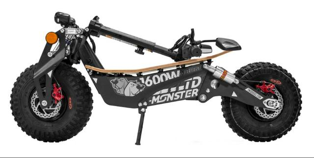 Scooter/Patinete Elétrico Monster 1600W 48V Two Dogs - Foto 2