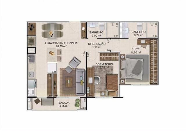 Negócio apartamento Acqua Residence Club - Foto 4