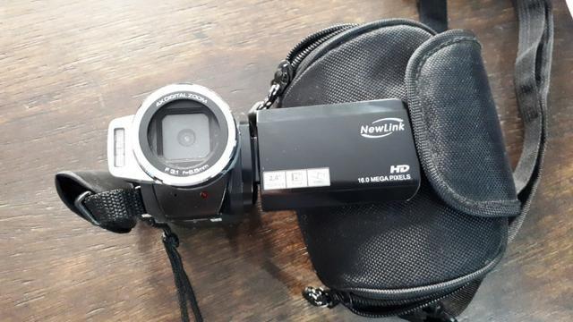 Camera fotográfica e filmadora