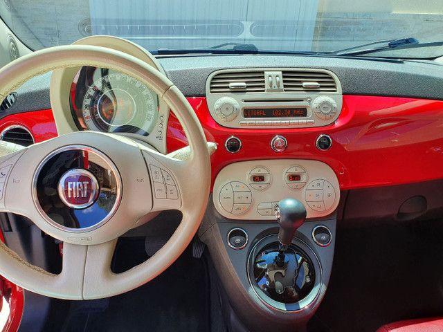 Fiat 500 automático /teto  - Foto 10