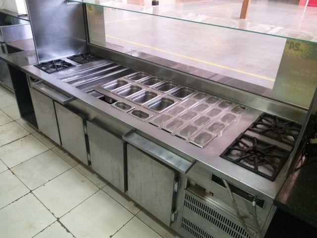 Montagem completa para Fast Food Macarrão ao Vivo - Foto 2