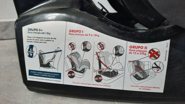 Cadeirinha Para Carro Burigotto Matrix Evolution K Mesclado Preto 0 A 25 Kg - Foto 3