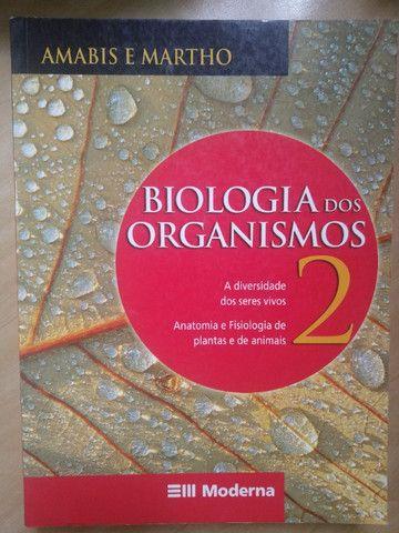 Livros Biologia 2 e 3 - Amabis e Martho - Foto 4