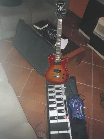 Pedaleira guitarra etc
